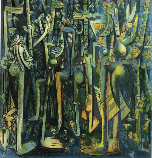 "Wilfredo Lam's ""The Jungle"""