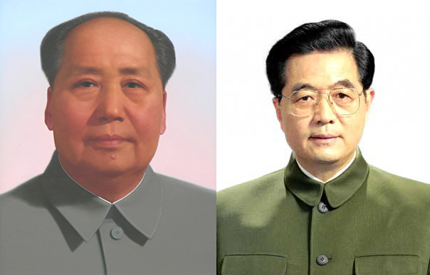 Past and Present: Mao and Xi Jinping