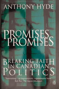 Book Jacket for the novel Promises, Promises