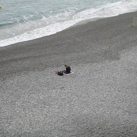 The solitary reader, Amalfi