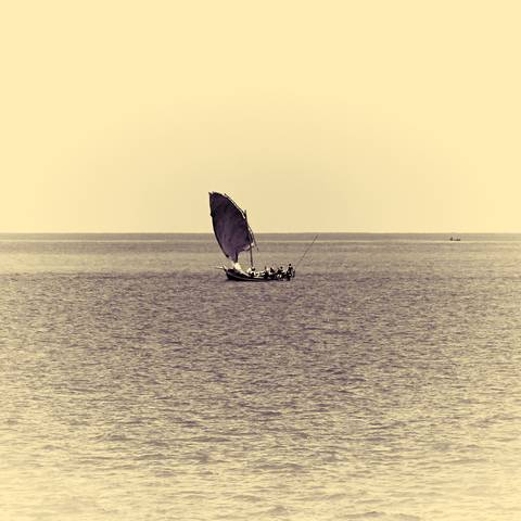 Lateen sail, Indian Ocean