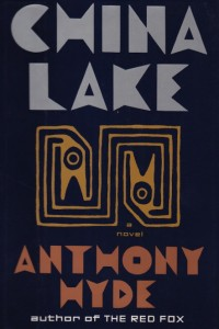 Book Jacket for the novel China Lake